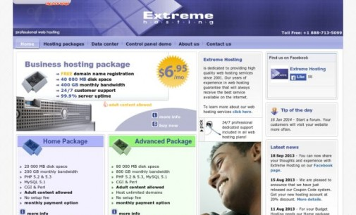 Web Host Interview with Lyubomir Dukov at Extreme Hosting