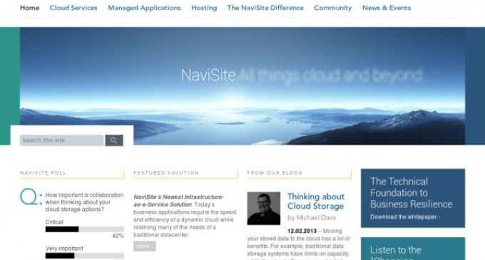 NaviSite Announces Hosted Lotus Services Powered by NaviCloud