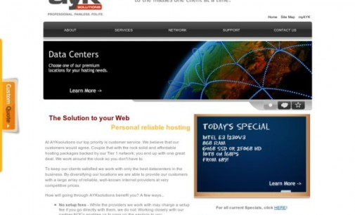 Web Host Interview with Artyom Khmelnitsky at AYKsolutions