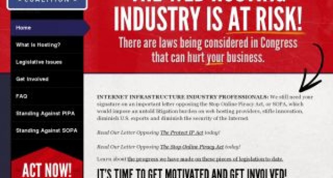 300 Internet industry executives sign letter opposing the Stop Online Piracy Act (SOPA)