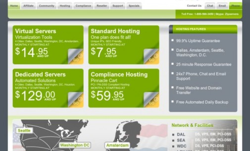 ZipServers.com Launches Washington D.C. Datacenter for VPS