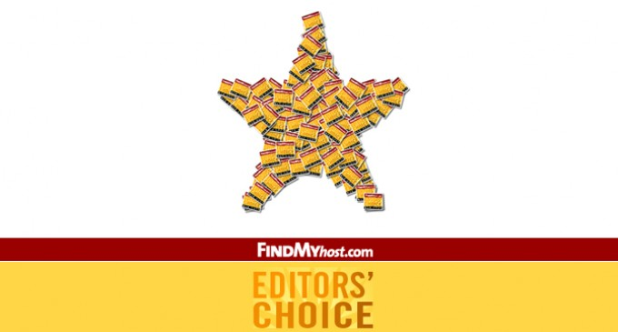 FindMyHost Releases October 2009 Editor's Choice Awards