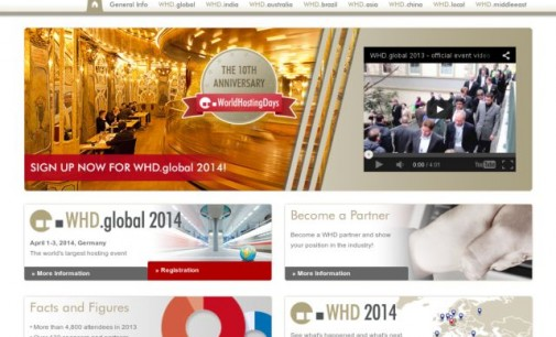 Hosting and Cloud Event WHD.global Celebrates 10th Anniversary, Registration is Open