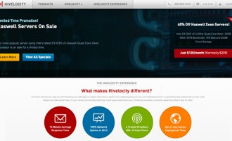 Hivelocity Launches New Web Site