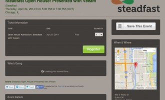 Steadfast Hosts Open House with New Partner, Veeam