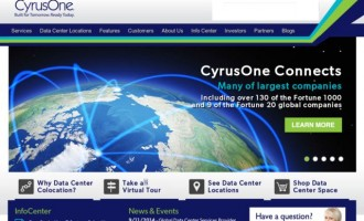 Global Data Center Services Provider CyrusOne Selected by CFR Solutions