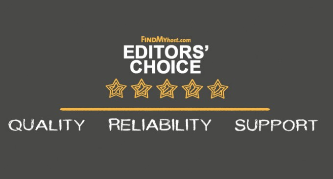 FindMyHost Releases June 2016 Editors' Choice Awards