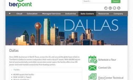 TierPoint to Build Second Dallas Data Center