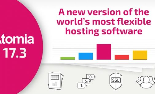 Atomia Adds Powerful New Reporting System to its White-Label Hosting Platform
