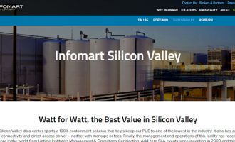 Infomart Data Centers Purchases 100% Renewable Energy at Its Silicon Valley Facility