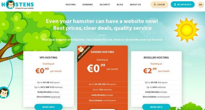 Hostens Expands Web Hosting Services Throughout Europe