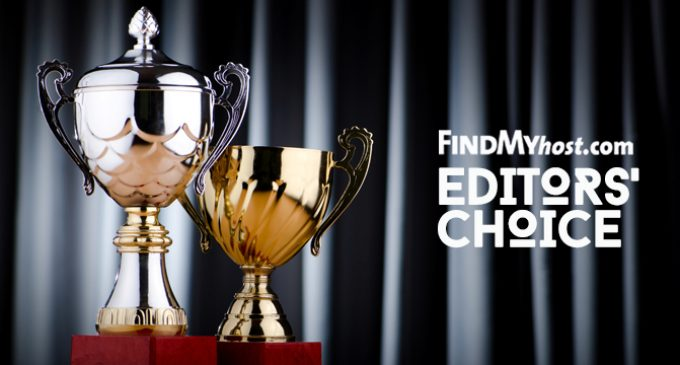 FindMyHost Releases October 2017 Editors' Choice Awards