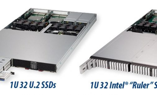 Supermicro Launches Petabyte Scale 1U Server and JBOF