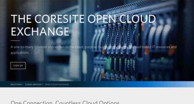 CoreSite Announces Availability of VMware Cloud on AWS in Four Markets