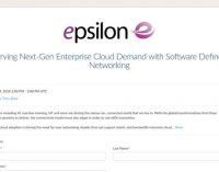 Epsilon to Host Webinar on Serving Next-Gen Enterprise Cloud Demand