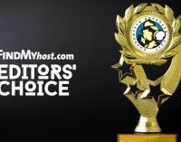 FindMyHost Releases June 2018 Editors' Choice Awards