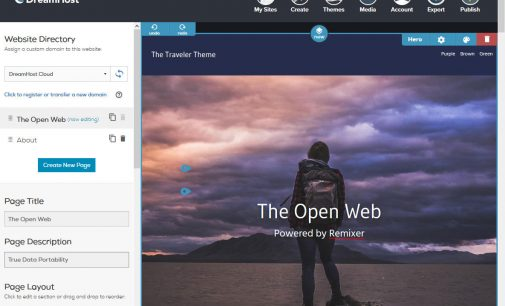 DreamHost Remixer Launches WordPress Export Feature