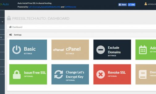 Speedify.tech Offers Free Automation Software to Issue and Install Free SSL Certificates to Websites in Shared Hosting