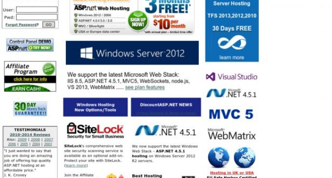DiscountASP.NET Officially Launches Hosted TFS Proxy Servers as a Free Service