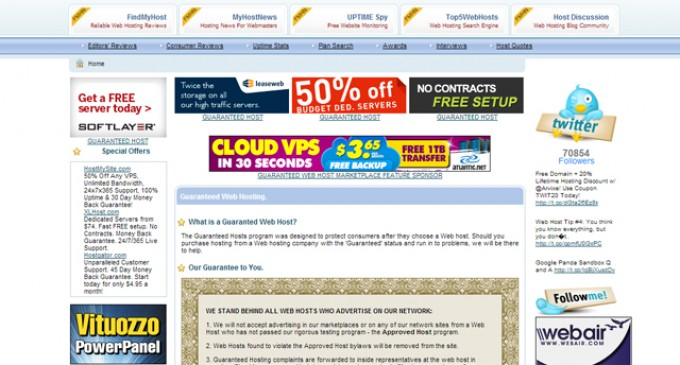 FindMyHost Protects Web Hosting Customers After the Purchase