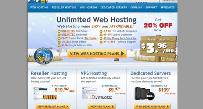 HostGator Now Offering Fully Managed VPS Hosting