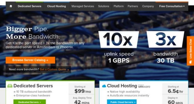 SingleHop to Exhibit Channel Partner Solutions at Upcoming Cloud Partners Event