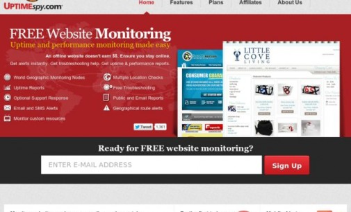 UptimeSpy Launches Free Worldwide Geographic Website Monitoring Service