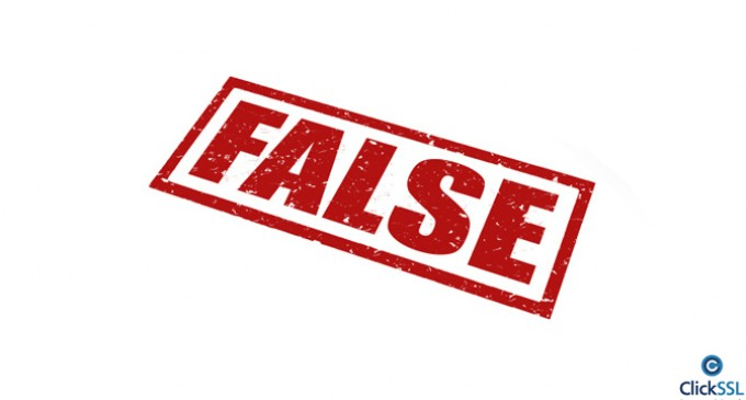 Top Five Internet Security Falsehoods