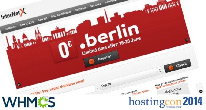 InterNetX presents new collaboration with WHMCS at HostingCon 2014