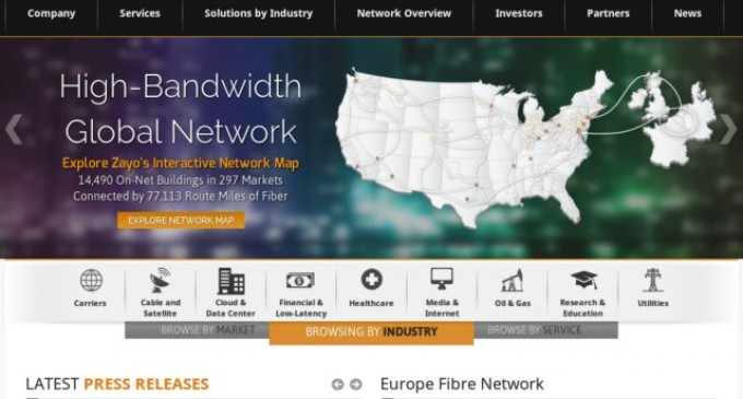 Zayo to expand dark fibre network from Salt Lake City to Sacramento