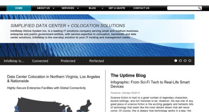 Data Center & Colocation Provider InfoRelay Launches New Website