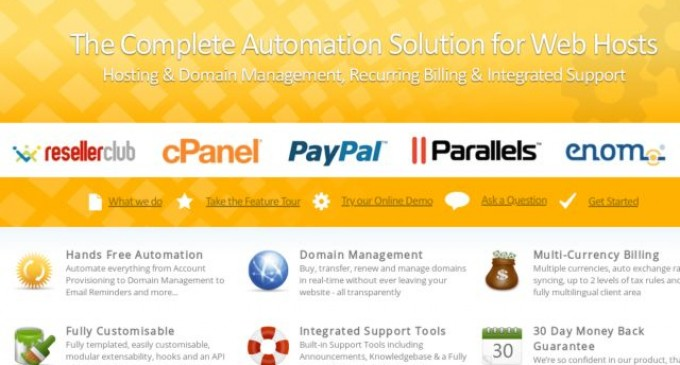 WHMCS Equips Thousands of Customers with Superior Bitcoin Processing Payment Options