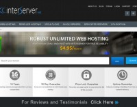 InterServer.Net Launces New Website