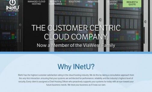 INetU Achieves Second Recognition on CRN's 2016 Hosting 100 List