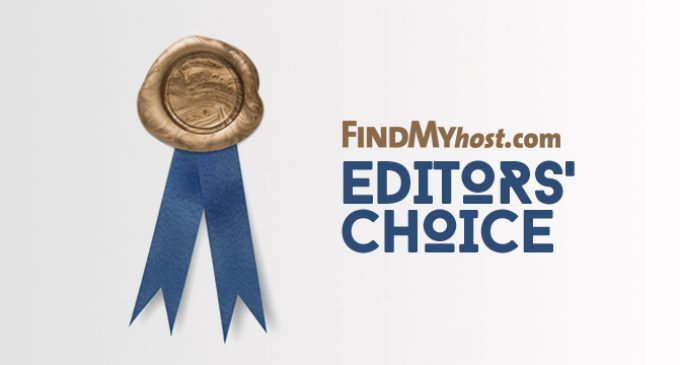 FindMyHost Releases October 2016 Editors' Choice Awards
