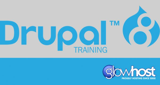 GlowHost Sponsors Drupal 8 Video Tutorial Series – Free web-building resource now available to the public
