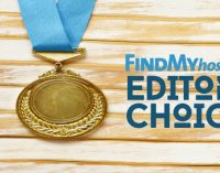 FindMyHost Releases February 2018 Editors' Choice Awards