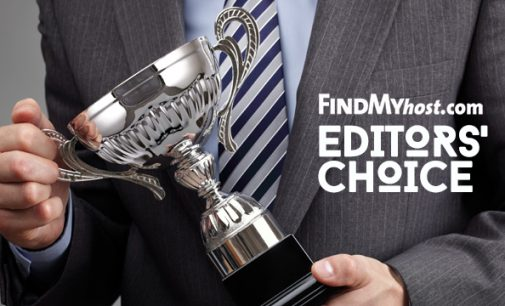 FindMyHost Releases July 2018 Editors' Choice Awards