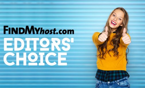 FindMyHost Releases November 2018 Editors' Choice Awards