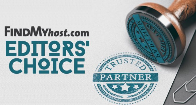 FindMyHost Releases March 2019 Editors' Choice Awards