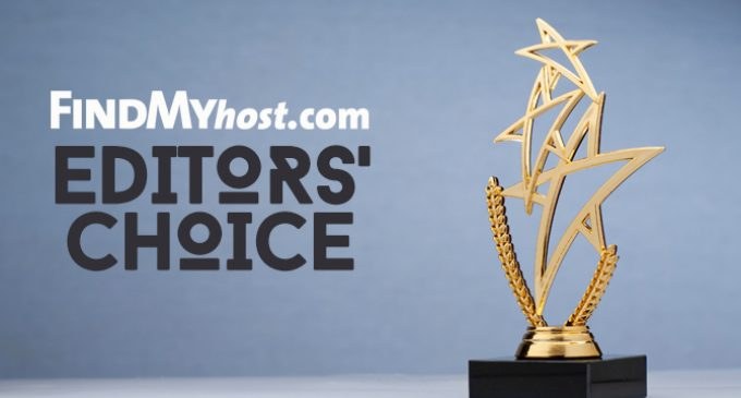 FindMyHost Releases October 2019 Editors' Choice Awards