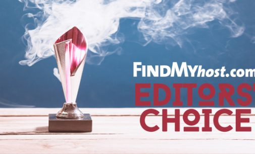 FindMyHost Releases June 2020 Editors' Choice Awards