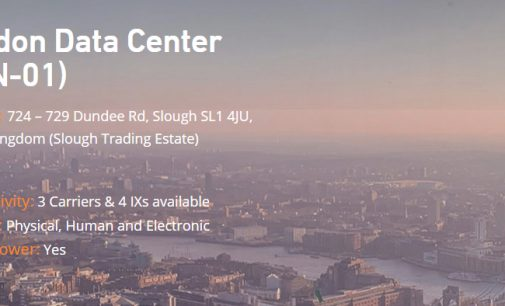 Leaseweb UK opens Slough data center to broaden UK footprint and offer competitively priced colocation and expanded DR services