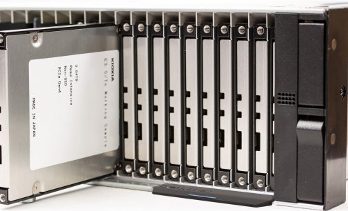 KIOXIA Demonstrates New EDSFF SSD Form Factor Purpose-Built for Servers and Storage
