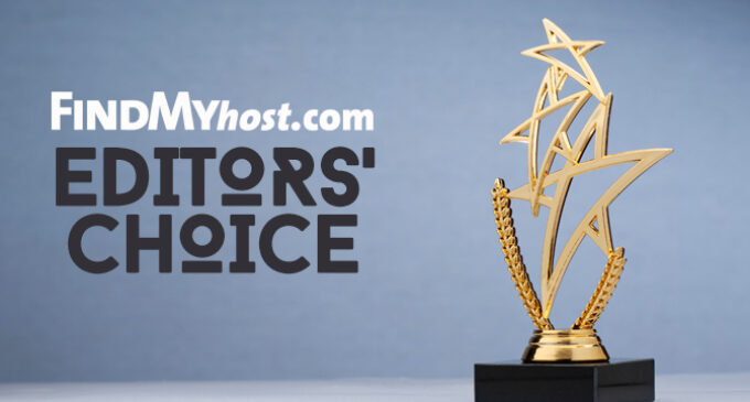 FindMyHost Releases October 2021 Editors' Choice Awards